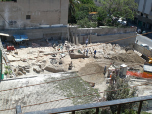 Un cantiere archeologico a Cagliari