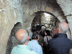 I sotterranei del Castello di Cagliari