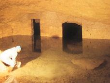 La cavità sotterranea Su Stiddiu, a Cagliari.