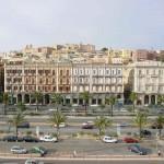 Cagliari vista dal mare