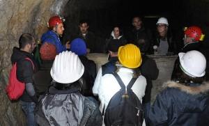Il Gruppo cavità in esplorazione
