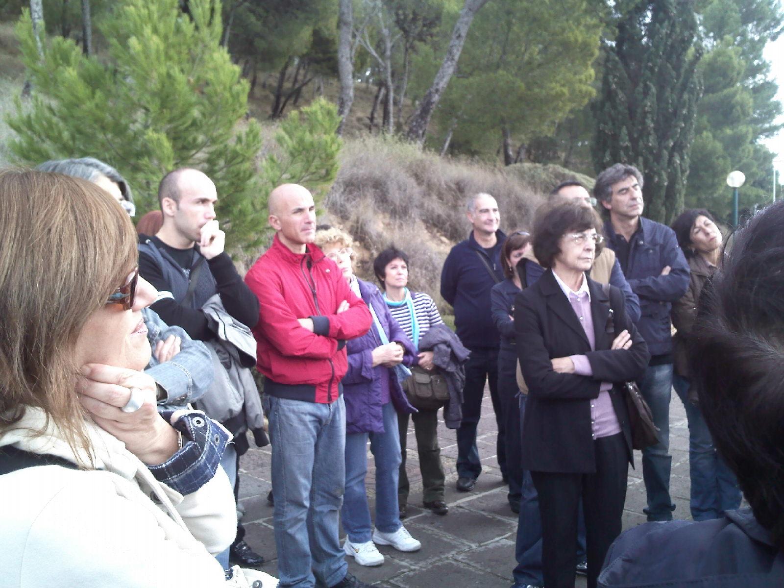 Una delle iniziative dell'Associazione Sardegna Sotterranea