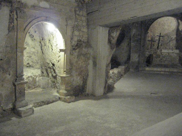 Una cripta sotterranea a Stampace