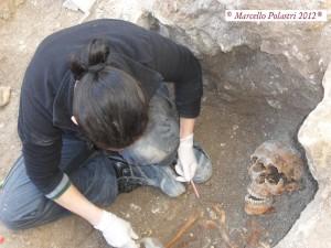 Scavo archeologico a Cagliari