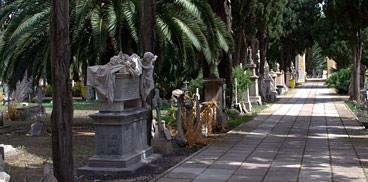 Il Cimitero di Bonaria a Cagliari