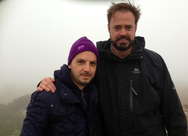 Da sinistra: Marcello Polastri e Jamie Theakston