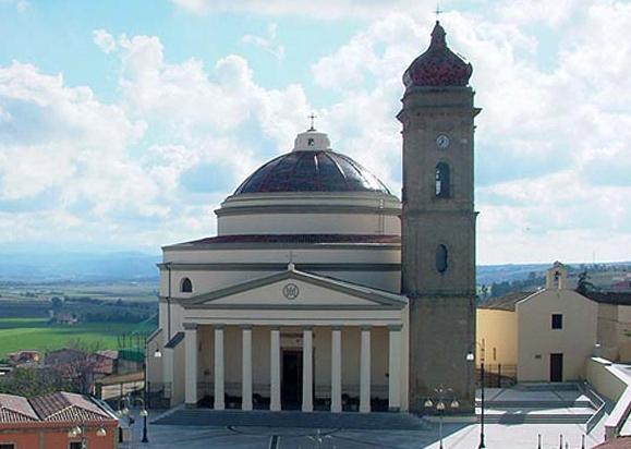 Guasila: la chiesa principale