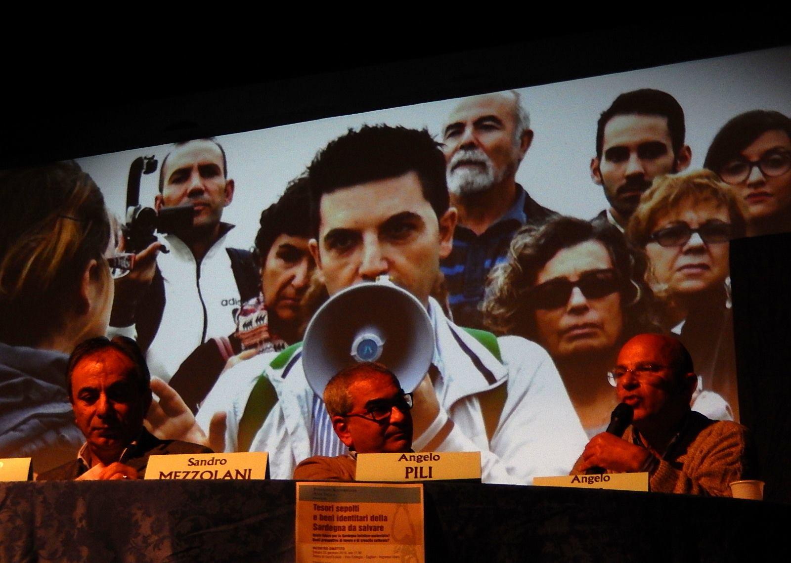Marcello Polastri, in video, durante il convegno