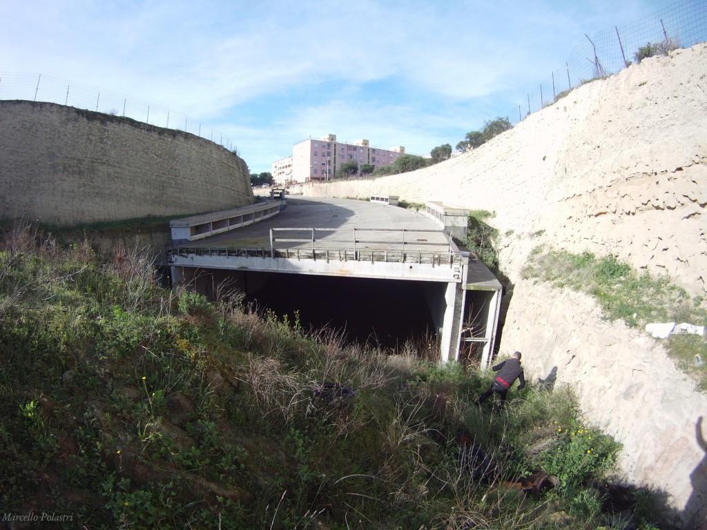 Il sottopasso abbandonato