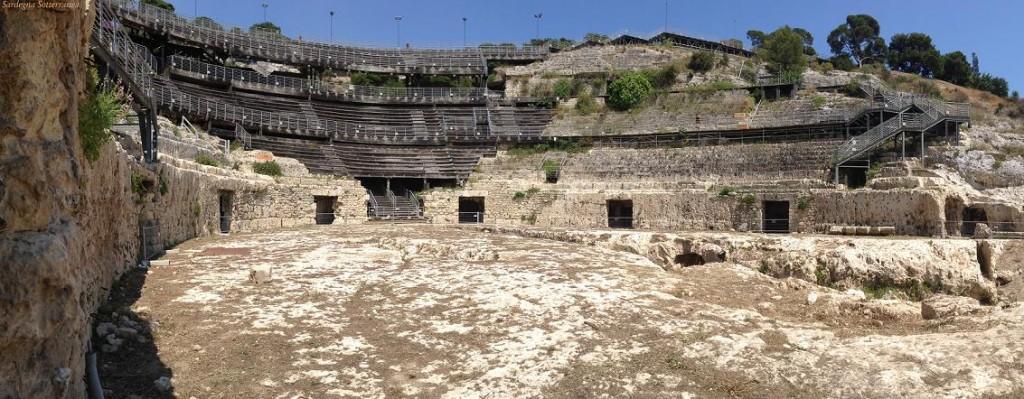 Anfiteatro romano di Cagliari.