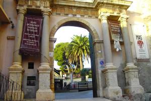 L'ingresso del Regio Arsenale a Cagliari