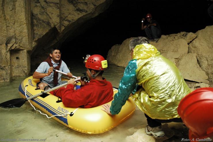 La grotta dei laghi di Cagliari sotterranea