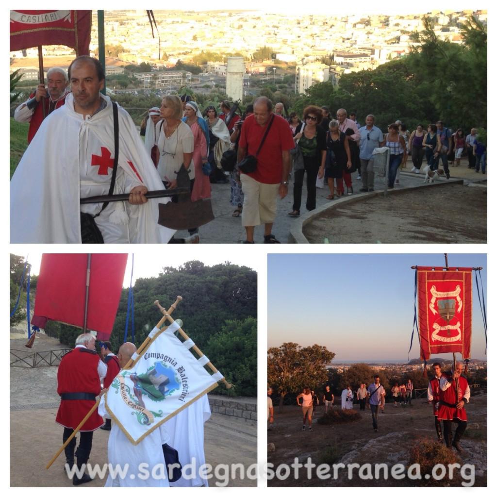 Evento di Sardegna Sotterranea al Castello