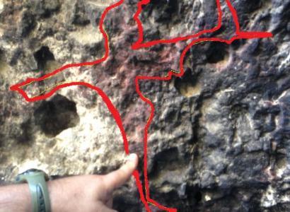 A Cagliari riaffiorano le pitture preistoriche
