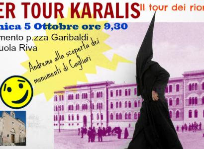SuperTour Karalis: 5 ottobre nei quartieri storici
