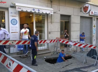 Cagliari. Nuova voragine a Stampace