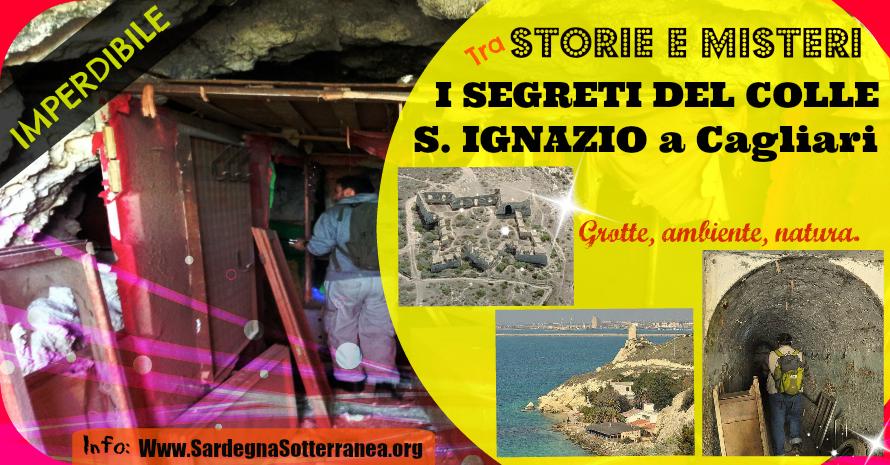 Notte del 1 Agosto nei sotterranei di Sant'Ignazio a Cagliari