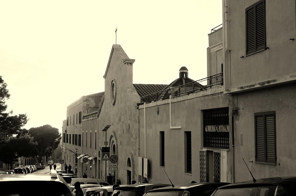Via Sant'Ignazio e la Chiesa dei cappuccini