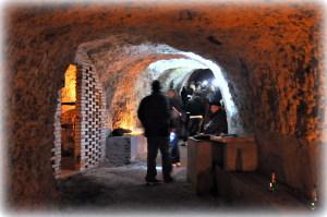 Visitando i sotterranei