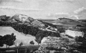 L'area de Is Mirrionis, luogo della scoperta