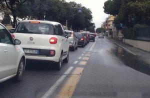 Auto_Traffico_viale_Poetto