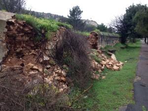 Muro crollato a calamosca 3