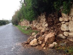 Crollo muro calamosca 4 polastri