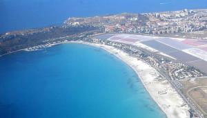Cagliari vista dai cieli