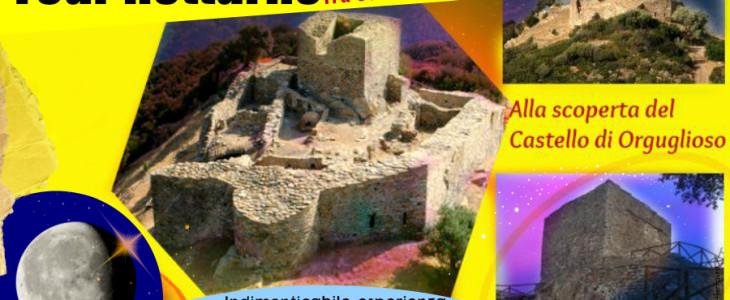 Sabato 18 luglio: alla scoperta di Castel Orguglioso sotto le stelle e la luna