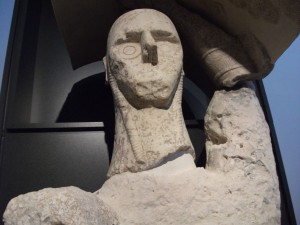 Statua gigante da Monte Prama.