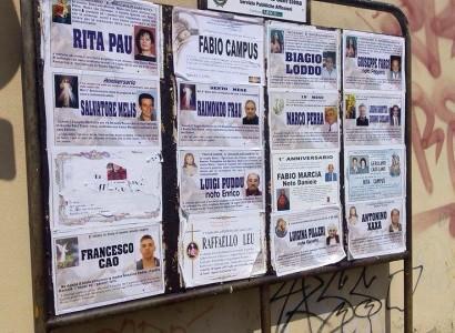 Mistero a Quartu: strappati i cartelli dei morti dalle strade