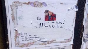 Cartello funebre Quartu