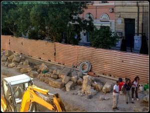 Scavi archeologici a Cagliari. Ottobre 2015. Come valorizzare le scoperte?