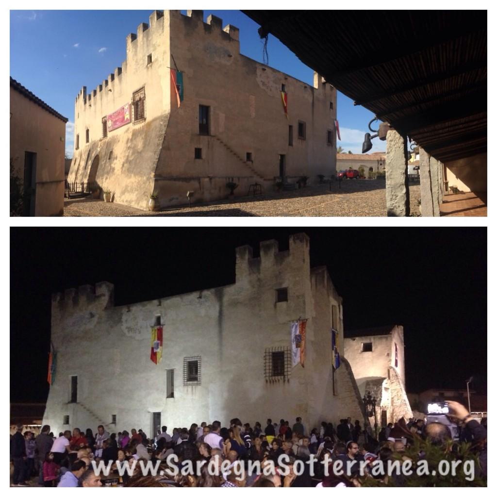 Il castello aperto da  mattina a sera