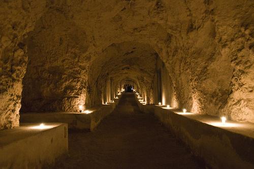 Una delle gallerie che visiteremo