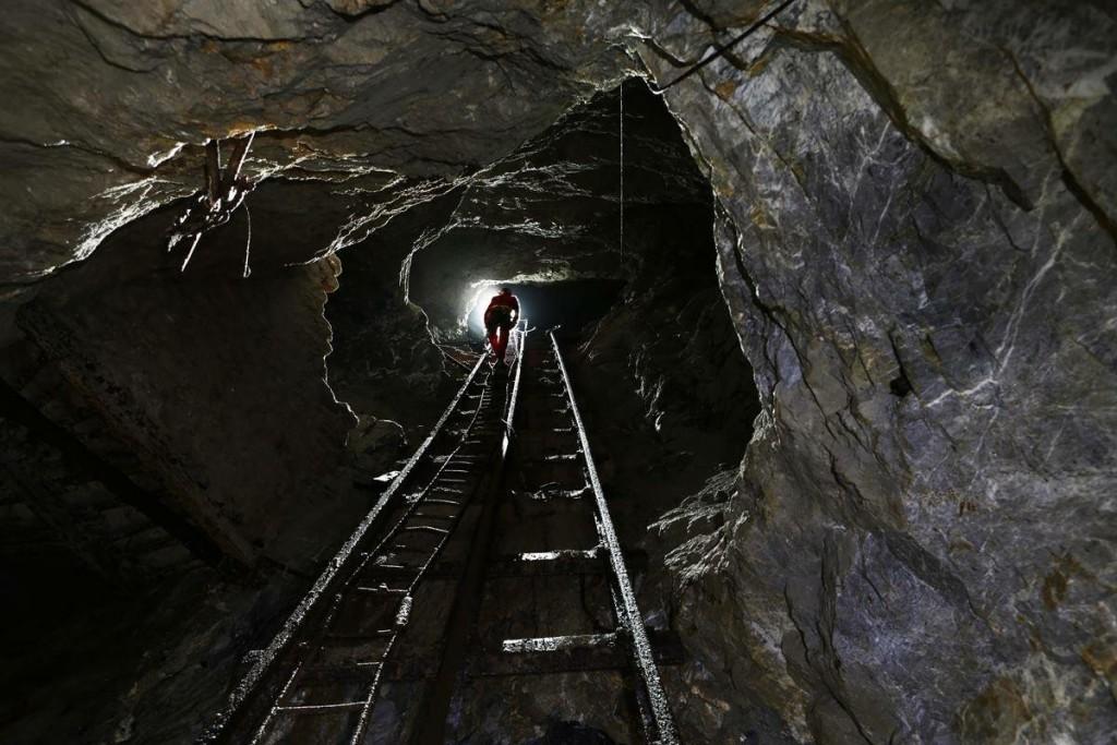 Una galleria mineraria esplorata dagli speleologi di Domusnovas
