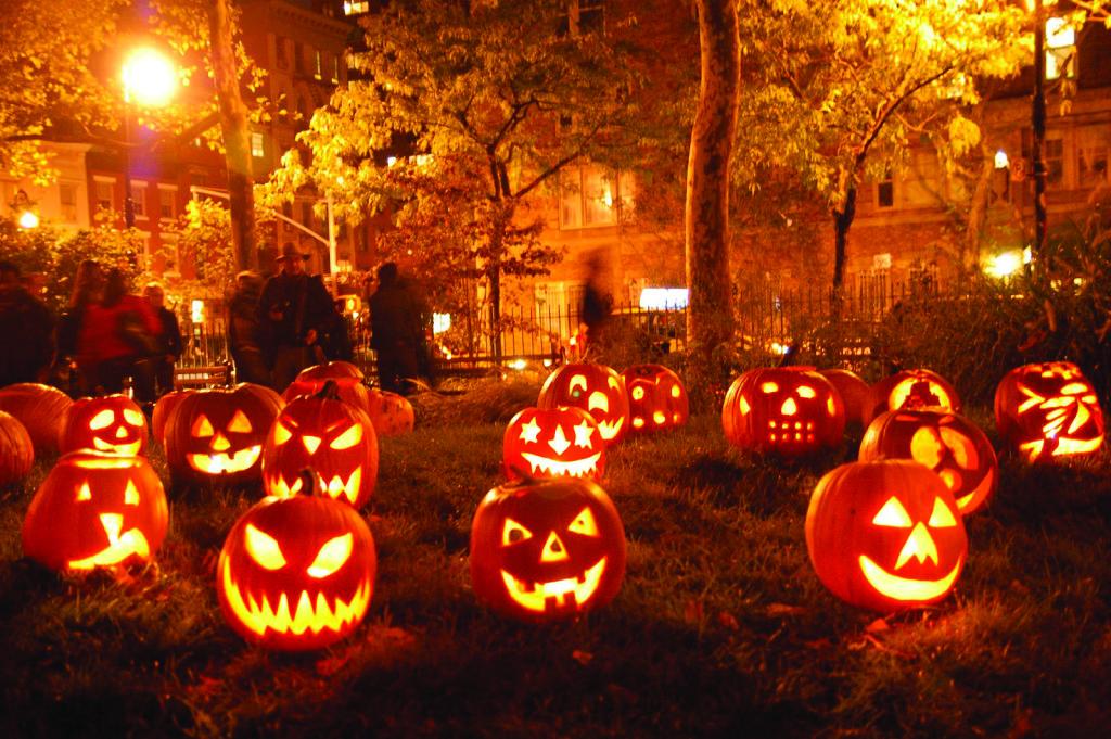 Zucche come da tradizione di Halloween