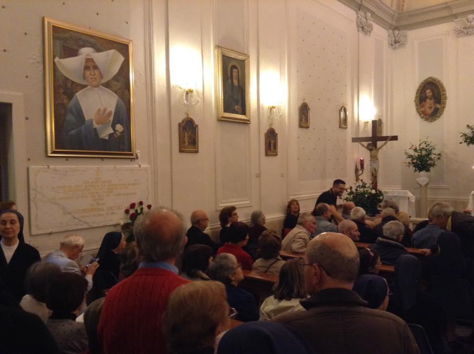 La sala gremita per l'incontro. Foto: Ignazio Boi.