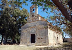 La Chiesa di Santa Maria a Uta.