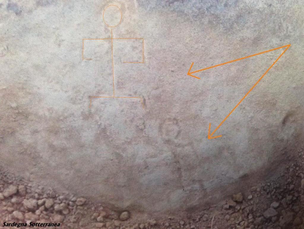 Incisioni rupestri su una roccia scoperte da Desogus.