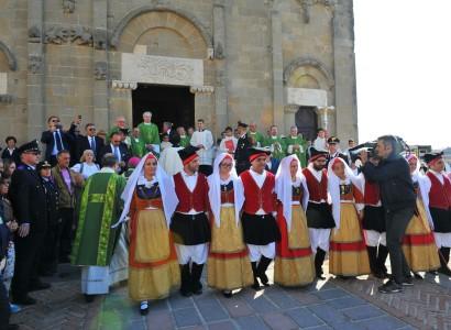 Grande folla per la Giornata nazionale del ringraziamento in Sardegna