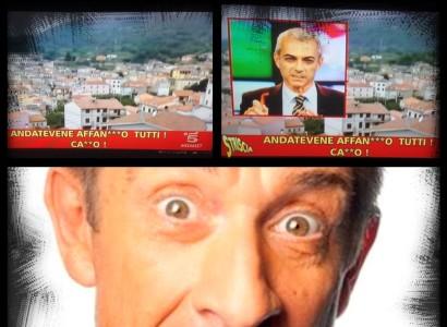 """Il Tg sardo di Videolina su Striscia: """"AFFANCULO tutti, cazzo!"""""""