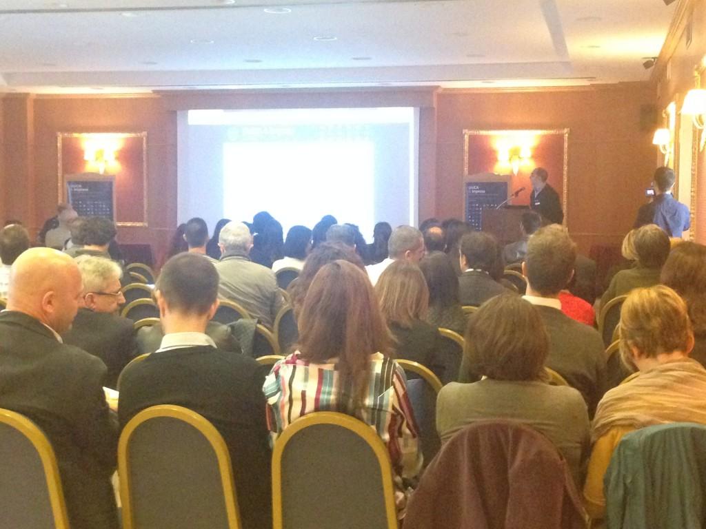 Il pubblico presente all'evento.