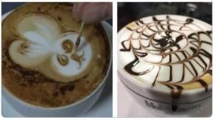 Un cappuccino elaborato