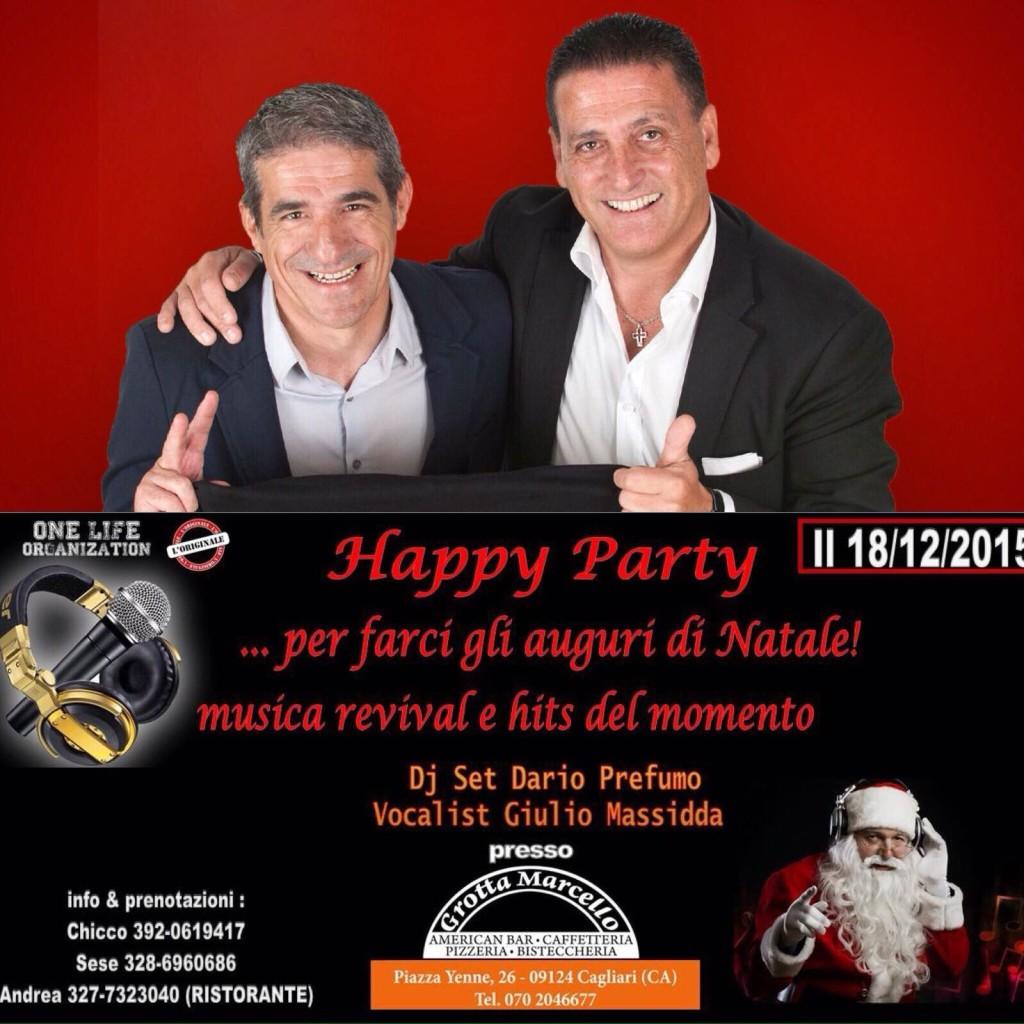 La locandina dell'evento in programma il 18 Dicembre a Grotta Marcello.