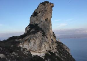 Il pomolo della Sella in una foto di Marcello Polastri