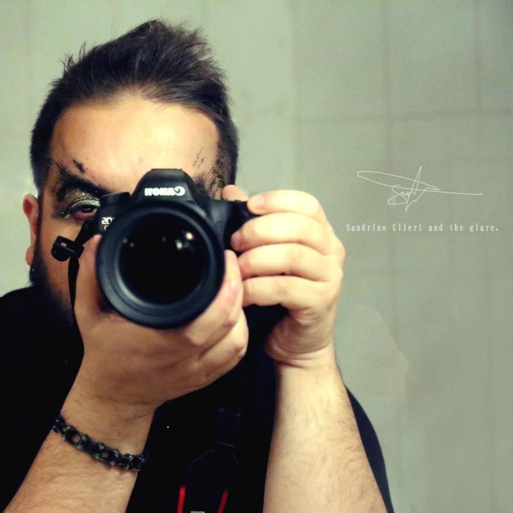 L'artista Sandrino Ulleri