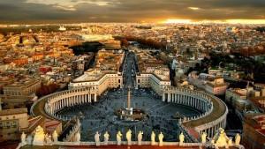 Il Vaticano.