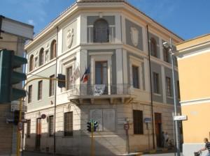 Terralba, casa del fascio.