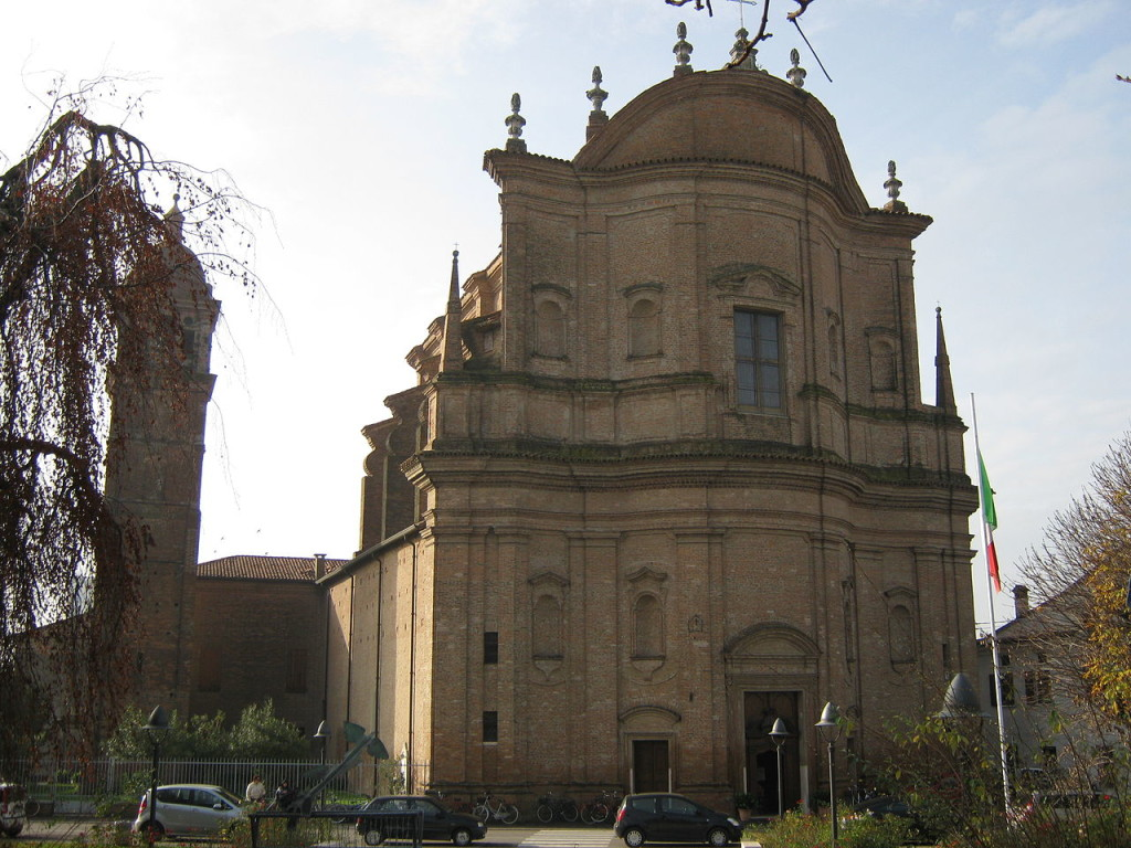 La chiesa parrocchiale di Revere.